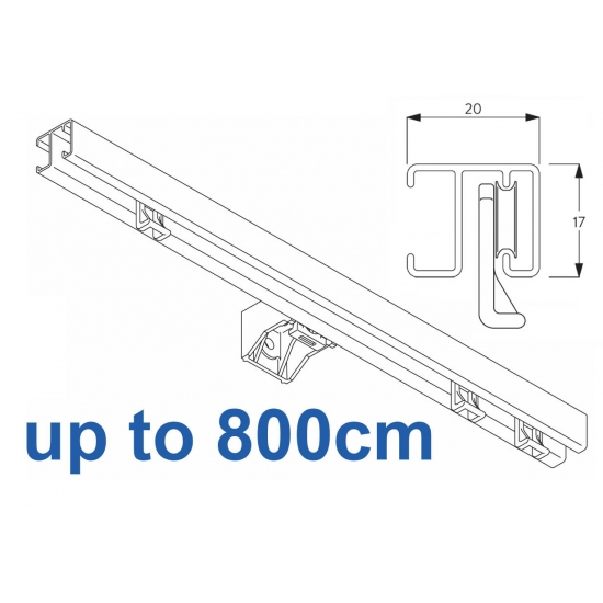1280 White up to 800cm Complete