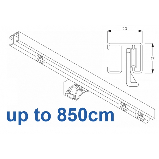 1280 White up to 850cm Complete