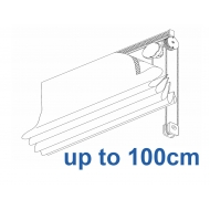 2120 Chain operated Headrail system up to 100cm