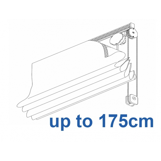 2120 Chain operated Headrail system up to 175cm