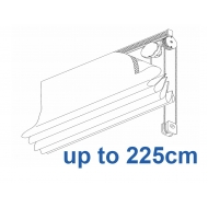 2120 Chain operated Headrail system up to 225cm