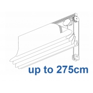 2120 Chain operated Headrail system up to 275cm
