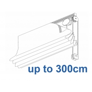 2120 Chain operated Headrail system up to 300cm