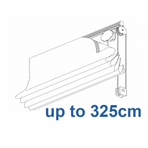 2120 Chain operated Headrail system up to 325cm