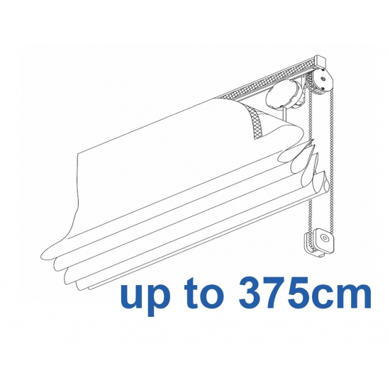 2120 Chain operated Headrail system up to 375cm