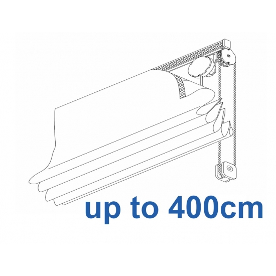 2120 Chain operated Headrail system up to 400cm