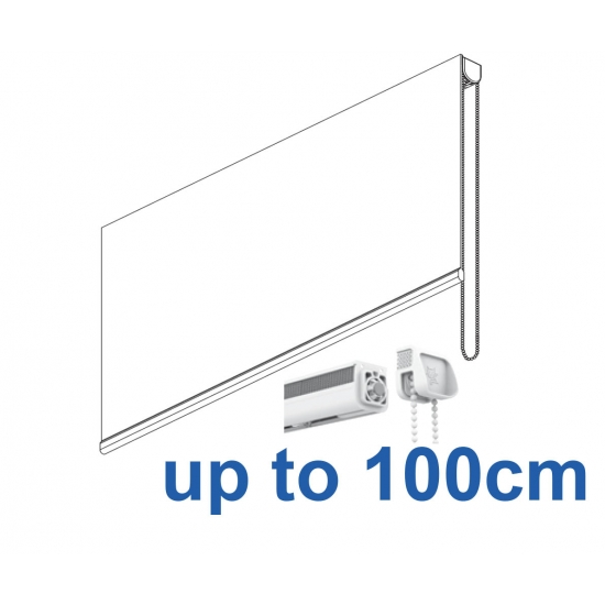 2304 Chain operated Headrail system up to 100cm