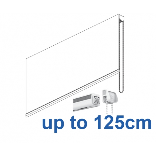 2304 Chain operated Headrail system up to 125cm