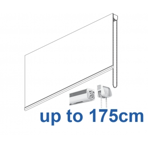 2304 Chain operated Headrail system up to 175cm