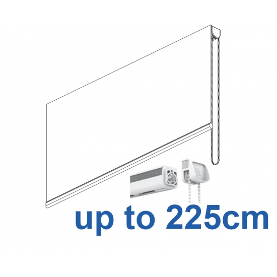 2305 Chain operated Headrail system up to 225cm