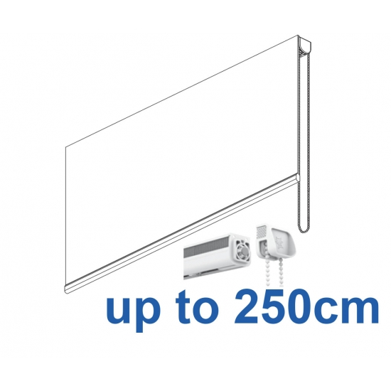 2305 Chain operated Headrail system up to 250cm