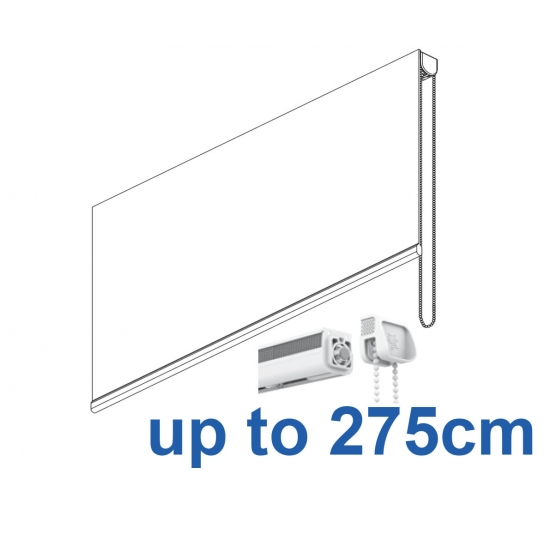 2305 Chain operated Headrail system up to 275cm