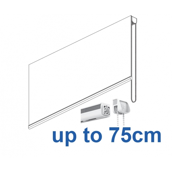 2304 Chain operated Headrail system up to 75cm