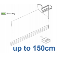 2345 Battery operated Headrail system up to 150cm