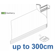 2345 Battery operated Headrail system up to 300cm