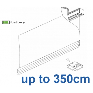 2345 Battery operated Headrail system up to 350cm