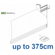 2345 Battery operated Headrail system up to 375cm