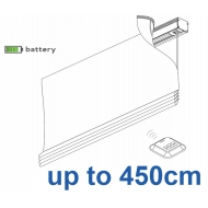 2345 Battery operated Headrail system up to 450cm