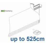 2345 Battery operated Headrail system up to 525cm