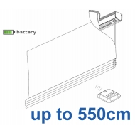 2345 Battery operated Headrail system up to 550cm