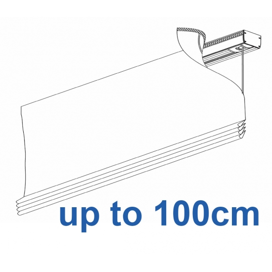 2350 Electrically operated Headrail system up to 100cm