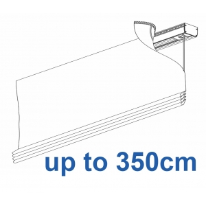2350 Electrically operated Headrail system up to 350cm
