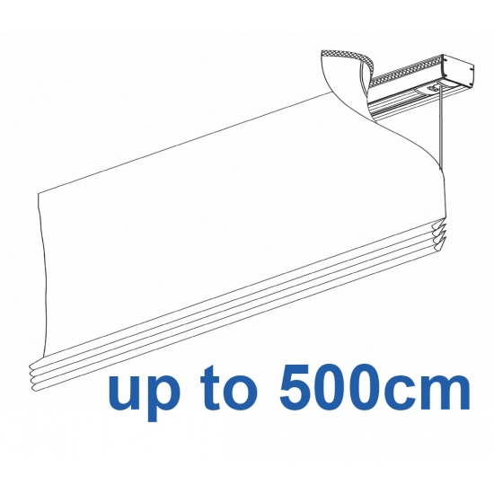 2350 Electrically operated Headrail system up to 500cm