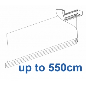 2350 Electrically operated Headrail system up to 550cm
