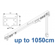3970 corded & 3970 Wave corded (White only)  up to 1050cm Complete