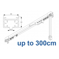 3970 corded & 3970 Wave corded (White only)  up to 300cm Complete