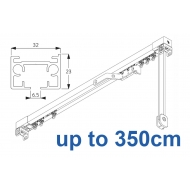 3970 corded & 3970 Wave corded (White only)  up to 350cm Complete