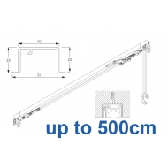 3970 corded & 3970 Wave corded, recess systems (White only)  up to 500cm Complete