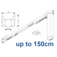 5100B Basic Autoglide system with Wireless wall switch up to 150cm Complete