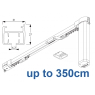 5100B Basic Autoglide system with Wireless wall switch up to 350cm Complete