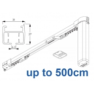 5100B Basic Autoglide system with Wireless wall switch up to 500cm Complete