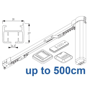 5100TC Total Control Autoglide system with Wireless Timer, Remote and Wireless wall switch up to 500cm Complete