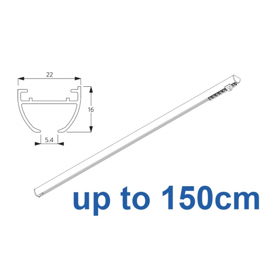 6010 Hand operated & 6010 Wave hand operated (White only)  up to 150cm Complete