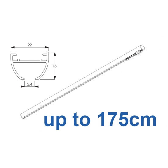 6010 Hand operated & 6010 Wave hand operated (White only)  up to 175cm Complete