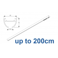 6010 Hand operated & 6010 Wave hand operated (White only)  up to 200cm Complete