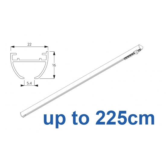 6010 Hand operated & 6010 Wave hand operated (White only)  up to 225cm Complete