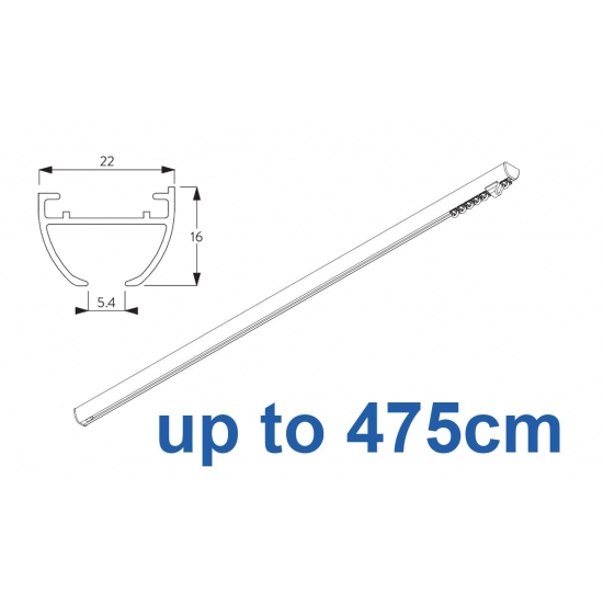 6010 Hand operated & 6010 Wave hand operated (White only)  up to 475cm Complete