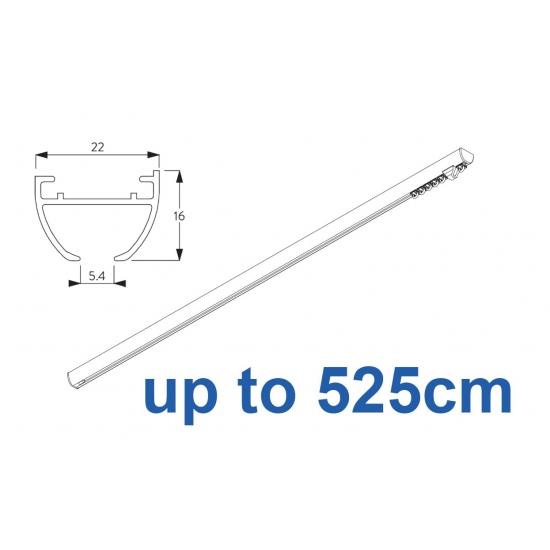 6010 Hand operated & 6010 Wave hand operated (White only)  up to 525cm Complete