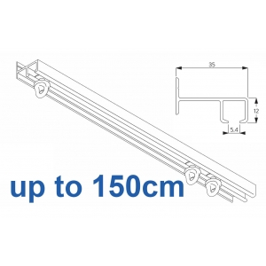6021 Safety Track, up to  150cm Complete