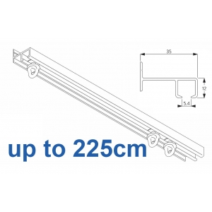 6021 Safety Track, up to  225cm Complete