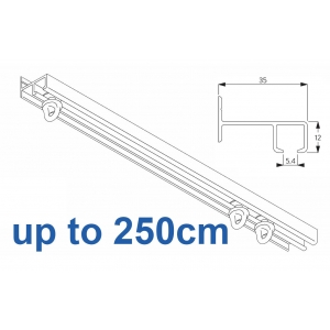 6021 Safety Track, up to  250cm Complete