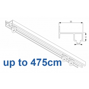 6021 Safety Track, up to  475cm Complete