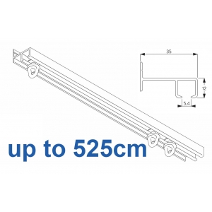 6021 Safety Track, up to  525cm Complete
