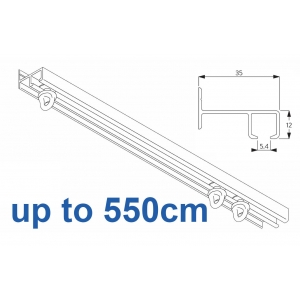 6021 Safety Track, up to  550cm Complete