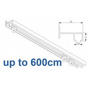 6021 Safety Track, up to  600cm Complete