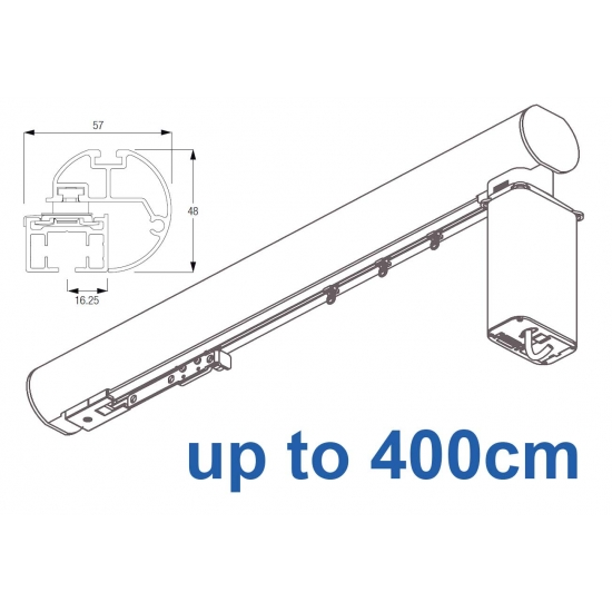 6150M-5600 50mm Electric Metropole with 5600 system, Silver, Black, White, Matt White, Ecru up to 400cm complete